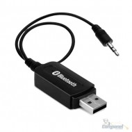 Receptor Adaptador Bluetooth Usb P2 Audio Stereo